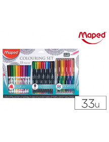 Set maped dibujo mandalas 33