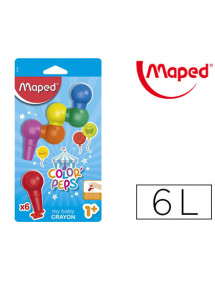 Lapices de cera maped baby