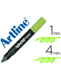 Rotulador artline fluorescente