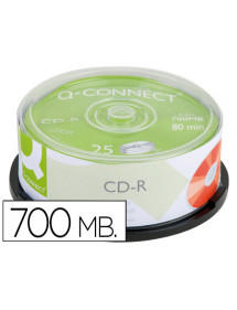 Cd-r q-connect capacidad 700mb